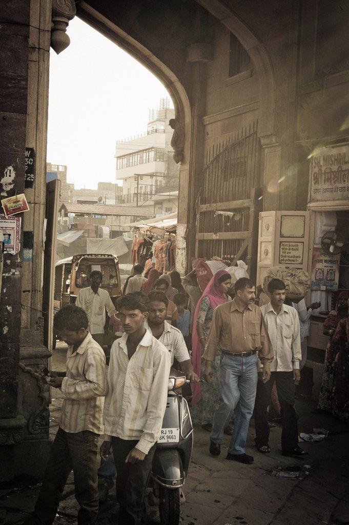 Das Stadtor von Jaipur