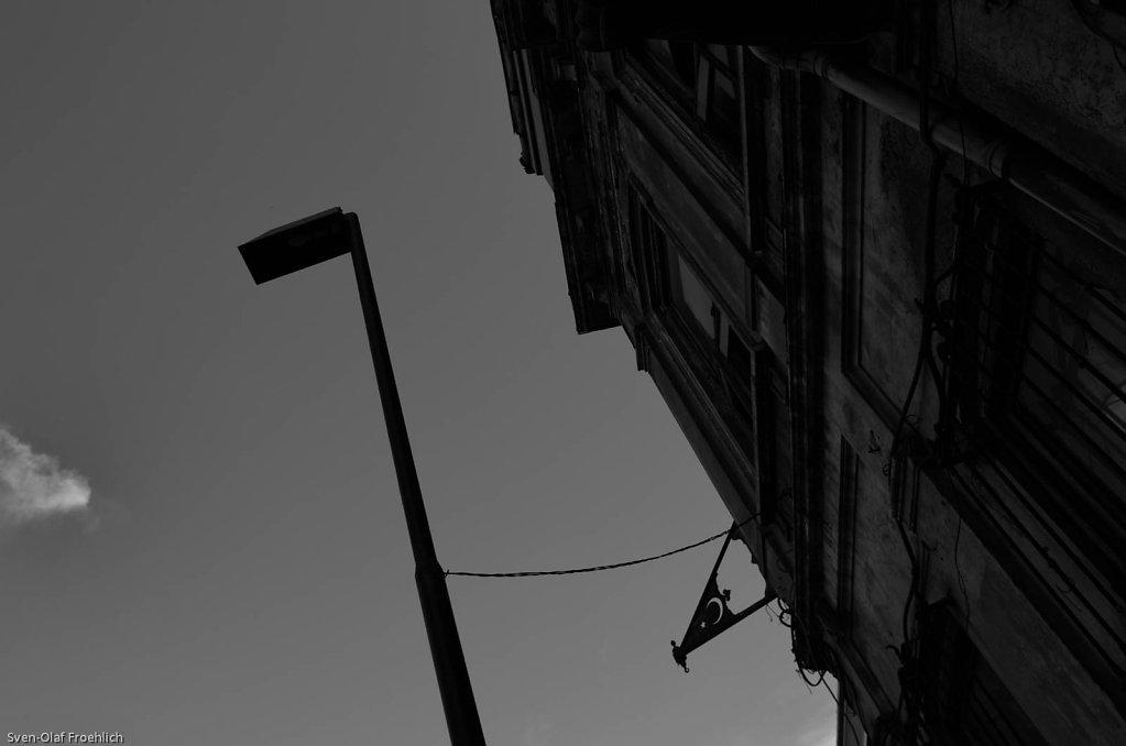 Und den Halbmond findet man überall im Straßenbild