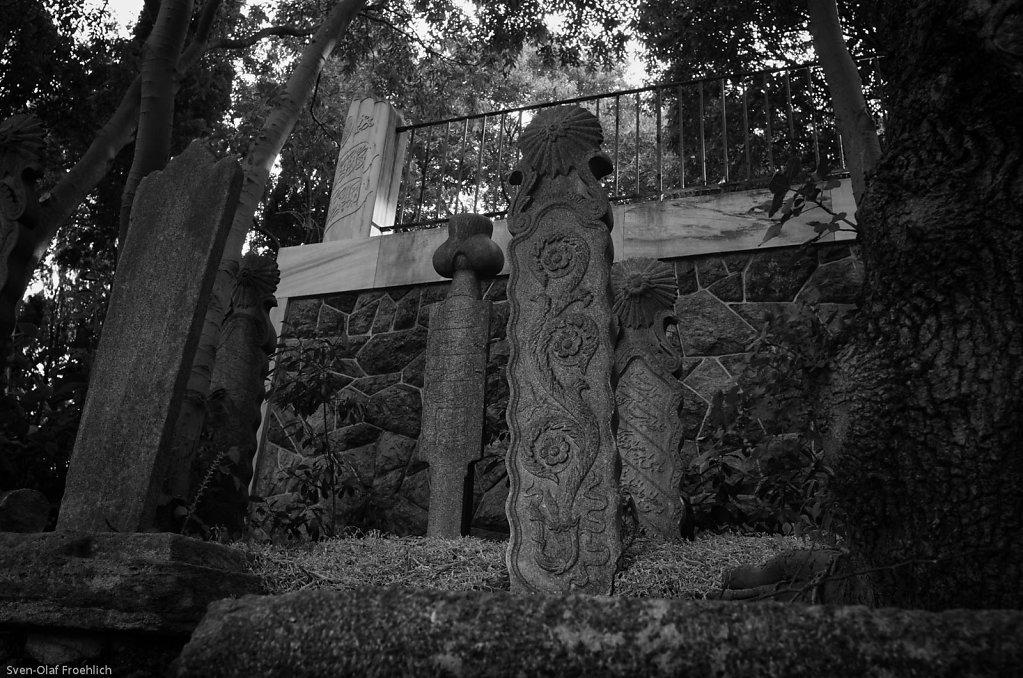 Der muslimische Friedhof in Eyüp